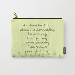 Natural Momma Carry-All Pouch