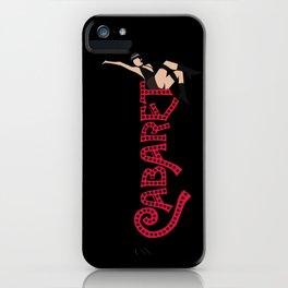 Cabaret! iPhone Case