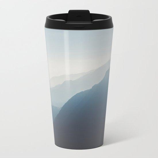 Blue Mountains Metal Travel Mug
