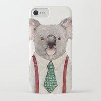 koala iPhone & iPod Cases featuring Koala by Animal Crew