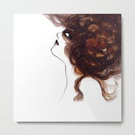 Woman ink 01 Metal Print