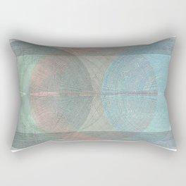 The Magnificent Cannon Ball Fiasco Rectangular Pillow