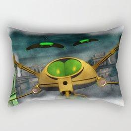 War of the Worlds Part 2 Rectangular Pillow
