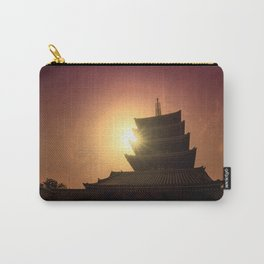 Five-storied pagoda of Sensoji Temple in Asakusa, Tokyo, Japan Carry-All Pouch