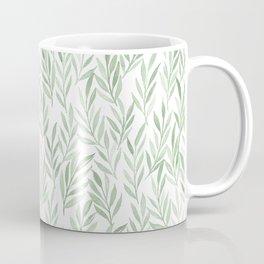 Watercolor Leaves Coffee Mug