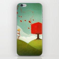 Red Tree iPhone & iPod Skin