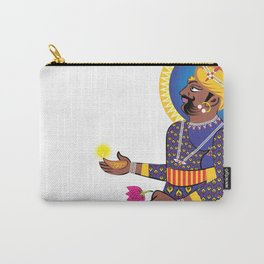 Great Indian King Carry-All Pouch