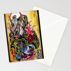 crossed gypsey Stationery Cards