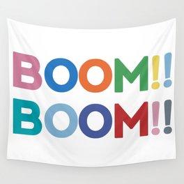 Boom!! Boom!! Wall Tapestry