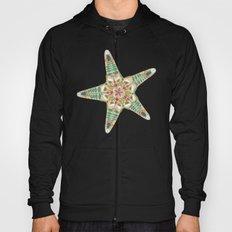starfish flowers off white Hoody