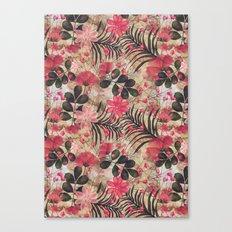botanical sketchbook Canvas Print