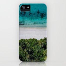 Maldivian island iPhone Case
