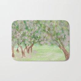 Apple Blossom Time Bath Mat