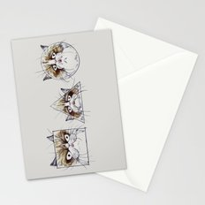 Simple Shape of Grumpy Stationery Cards