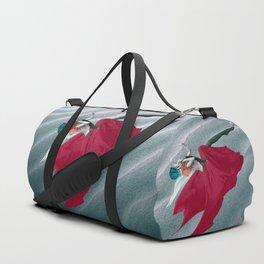Red Angel Duffle Bag