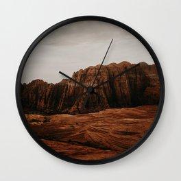 Utah Desert Wall Clock