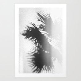 Shades of Leaves Art Print