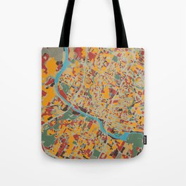 austin map retro Tote Bag