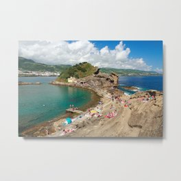 Islet of Vila Franca do Campo Metal Print