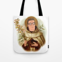 Saint Hank Hill Tote Bag