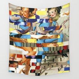 Glitch Pin-Up Redux: Yasmin & Yardley Wall Tapestry