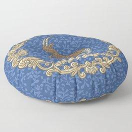 Vintage Astrology - Capricorn Floor Pillow