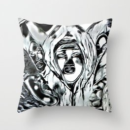 Cabsink17DesignerPatternRESIT Throw Pillow