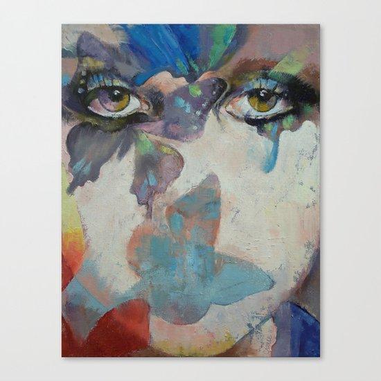 Gothic Butterflies Canvas Print