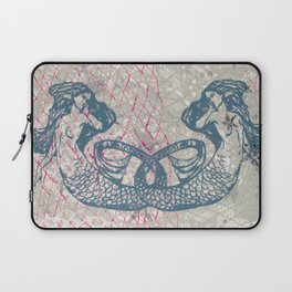 Double Mermaids Laptop Sleeve