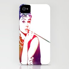 Audrey Hepburn Breakfast at Tiffany's iPhone (4, 4s) Slim Case