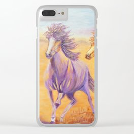 Free Spirits | Esprits Libres Clear iPhone Case