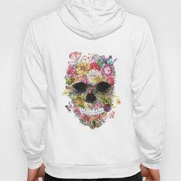 Floral Skull Hoody