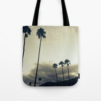 palm Tote Bags featuring palm by cOnNymArshAuS