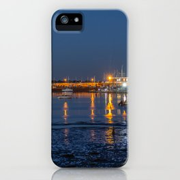 Night time reflections. iPhone Case