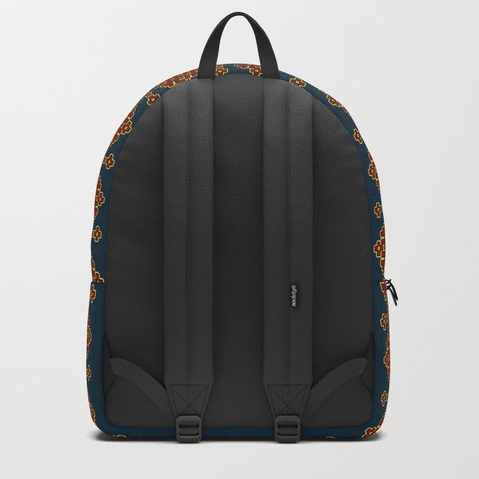 Flower pattern #0243 Backpack