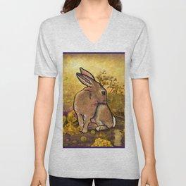 Abundance Bunny Unisex V-Neck