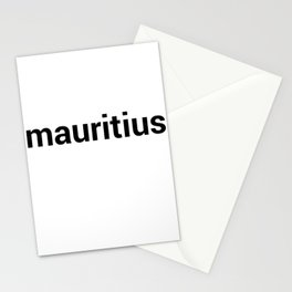 mauritius Stationery Cards