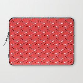 Flying heart shaped arrows print Laptop Sleeve