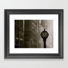 In Old New York. Framed Art Print