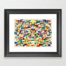 Olympic Village Framed Art Print