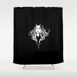 Key of the Underworld Shower Curtain