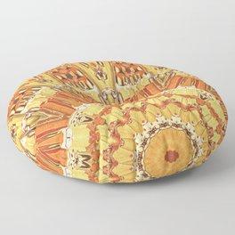 Golden Sun Floor Pillow