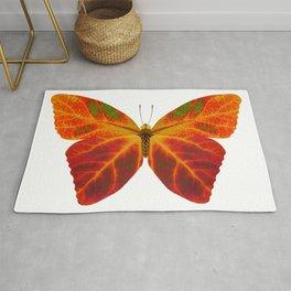 Aspen Leaf Butterfly 2 Rug