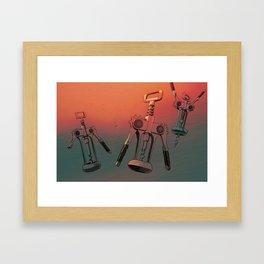 BOTTLE OPENERS Framed Art Print