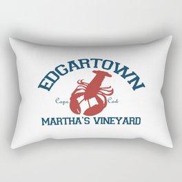 Edgartown - Martha's Vineyard. Rectangular Pillow