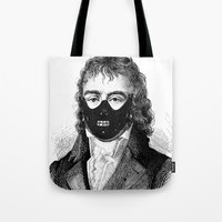 bdsm Tote Bags featuring BDSM XXIII by DIVIDUS