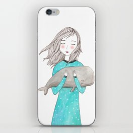 Just want to hold you iPhone Skin