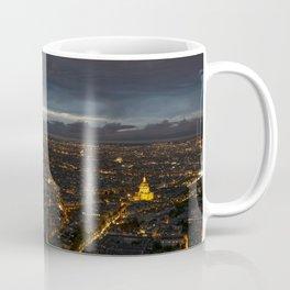 Paris Lights Night View Coffee Mug