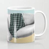 record Mugs featuring xerographic  record by Vin Zzep