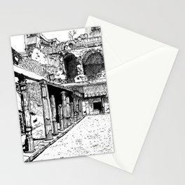 Herculaneum Courtyard Stationery Cards